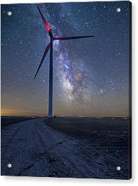 Acrylic Print featuring the photograph Wind  by Aaron J Groen