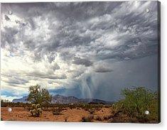 Wind And Rain Acrylic Print