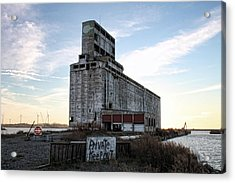 Wind And Weathering Acrylic Print by Peter Chilelli