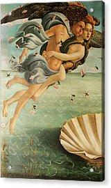 Wind God Zephyr Acrylic Print