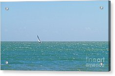 Wind In The Sails Acrylic Print