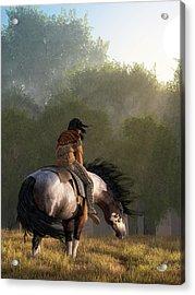 Wind Of The Forest Acrylic Print by Daniel Eskridge