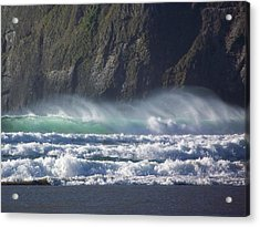 Wind On The Waves Acrylic Print