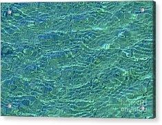 Wind Over Water Acrylic Print