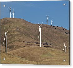 Wind Power 6 Acrylic Print by Todd Kreuter