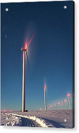 Acrylic Print featuring the photograph Wind Power by Cat Connor