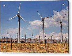Wind Power II Acrylic Print by Ricky Barnard