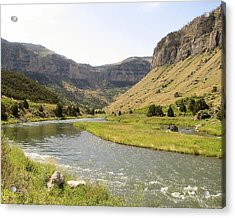 Wind River Canyon 1 Acrylic Print