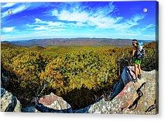 Wind Rock Panorama Acrylic Print