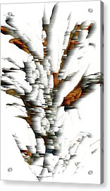 Acrylic Print featuring the painting Wind Series 05.072311windblastscvss by Kris Haas