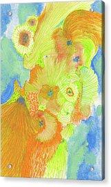Wind - #ss18dw013 Acrylic Print by Satomi Sugimoto