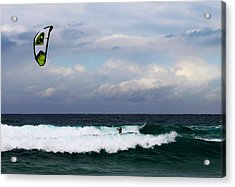 Wind Surfing Surfer's Paradise Acrylic Print by Susan Vineyard