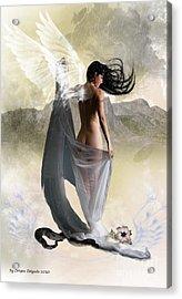Wind Swept Acrylic Print by Crispin  Delgado