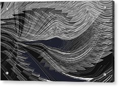 Wind Whipped Acrylic Print
