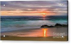 Windansea Beach At Sunset Acrylic Print