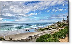Acrylic Print featuring the photograph Windansea Wonderful by Peter Tellone
