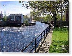 Winding River Acrylic Print