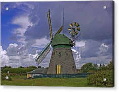 Windmill Amrum Germany Acrylic Print