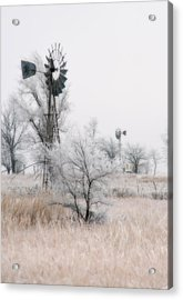 Windmill Antithesis Acrylic Print by Fred Lassmann