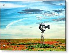 Windmill Acrylic Print