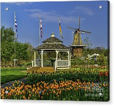Windmill Island Gardens  Acrylic Print