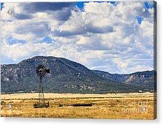Windmill New Mexico Acrylic Print
