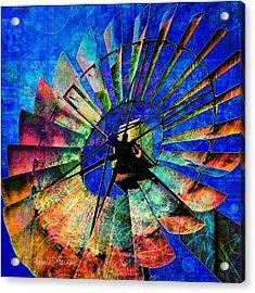 Windmill Power Acrylic Print