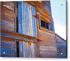 Acrylic Print featuring the photograph Window 3 by Susan Kinney