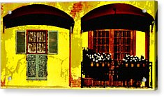 Window And Doors Acrylic Print by Lyle  Huisken
