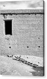 Window And Ladder, Shey, 2005 Acrylic Print