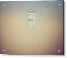 Window And Wall Acrylic Print