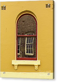 Acrylic Print featuring the photograph Window And Window 2 by Perry Webster