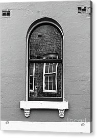 Acrylic Print featuring the photograph Window And Window by Perry Webster