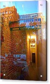 Window Art Lll Acrylic Print by Mark Lemon