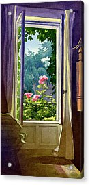 Window At Clermont Acrylic Print