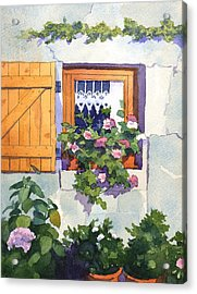 Window At St Saturnin Acrylic Print