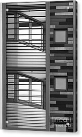 Vertical Horizontal Abstract Acrylic Print