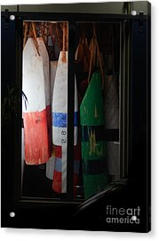 Window Buoys Key West Acrylic Print
