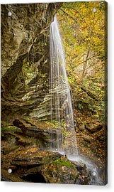 Window Falls In The Autumn Acrylic Print