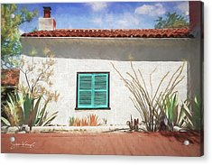 Window In Oracle Acrylic Print