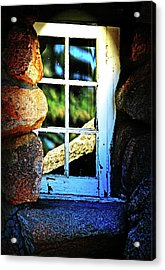 Window In Rock Acrylic Print