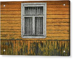 Window In The Old House Acrylic Print