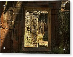 Window Into Angkor Wat Acrylic Print