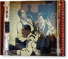 Window Jazz Acrylic Print