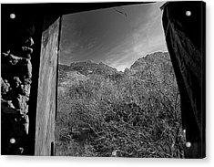 Window Acrylic Print by John Gee
