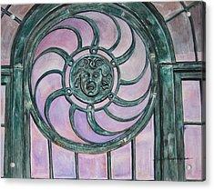 Window Memory Acrylic Print by Judy Riggenbach
