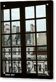Window Of Picasso Museum By Taikan Acrylic Print