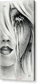 Window Of The Soul Acrylic Print by Rachel Christine Nowicki
