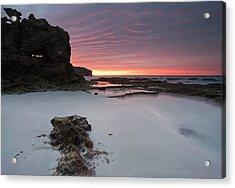 Window On Dawn Acrylic Print by Mike  Dawson