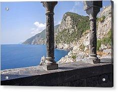 Window On The Sea At Portovenere Acrylic Print